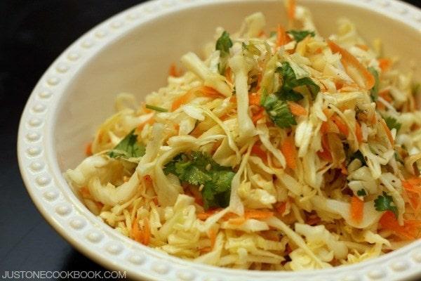 Asian Coleslaw   Easy Japanese Recipes at JustOneCookbook.com