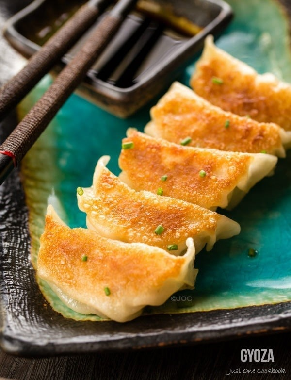 Gyoza (Japanese pan-fried dumplings)| Easy Japanese Recipes at Just One Cookbook.com