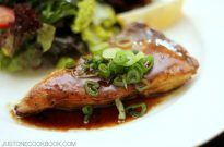 Hamachi Teriyaki (Yellowtail) with Yuzu Kosho