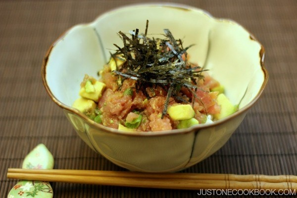 Negitoro & Avocado Donburi | Easy Japanese Recipes at JustOneCookbook.com