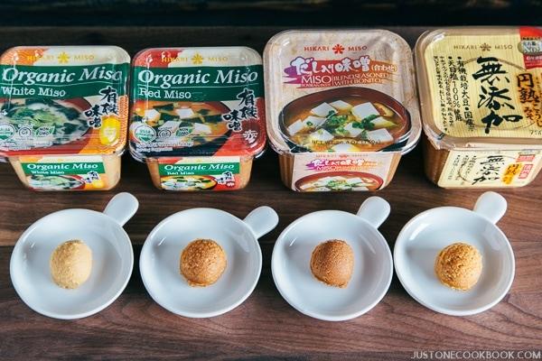 Miso Soup - Miso Varieties