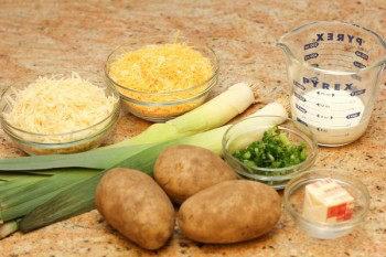 Potato-Leek Gratin 1