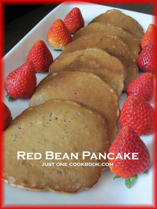 Red Bean Pancake | JustOneCookbook.com