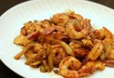 Shrimp & Celery with Ketchup Tobanjiang Sauce | Easy Japanese Recipes at JustOneCookbook.com