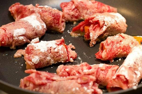 Baby Carrot Beef Rolls 5
