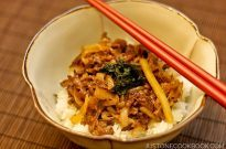 Beef Donburi with Shiso Garlic Soy Sauce | Easy Japanese Recipes at JustOneCookbook.com
