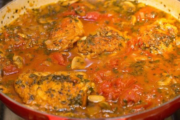 Chicken Cacciatore 12