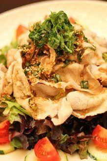 Pork Shabu Salad with Ponzu Dressing | JustOneCookbook.com