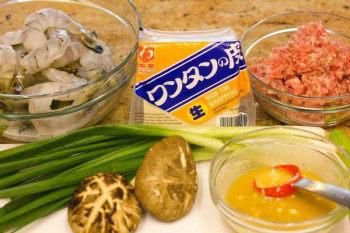 Shrimp and Pork Wonton 1