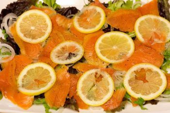 Smoked Salmon Salad with Lemon Vinaigrette • Just One Cookbook