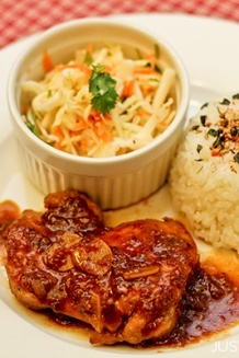 Chicken with Garlic Onion Sauce | JustOneCookbook.com