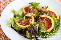 Green Salad with Blood Orange Vinaigrette