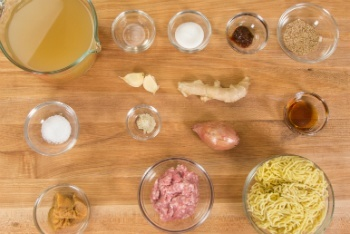Miso Ramen Ingredients 1