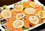 Smoked Salmon Salad with Lemon Vinaigrette