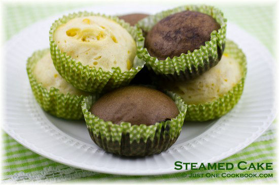 Steamed Cake Recipe | JustOneCookbook.com