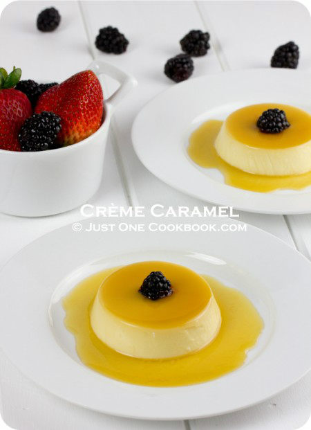 Cr me caramel pudding purin recipe just one cookbook - What to do with leftover whites and yolks four simple recipes ...