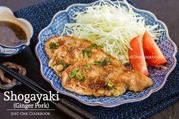 Shogayaki (Ginger Pork) | Easy Japanese Recipes at JustOneCookbook.com