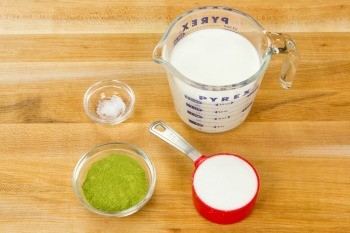 Green Tea Ice Cream Ingredients