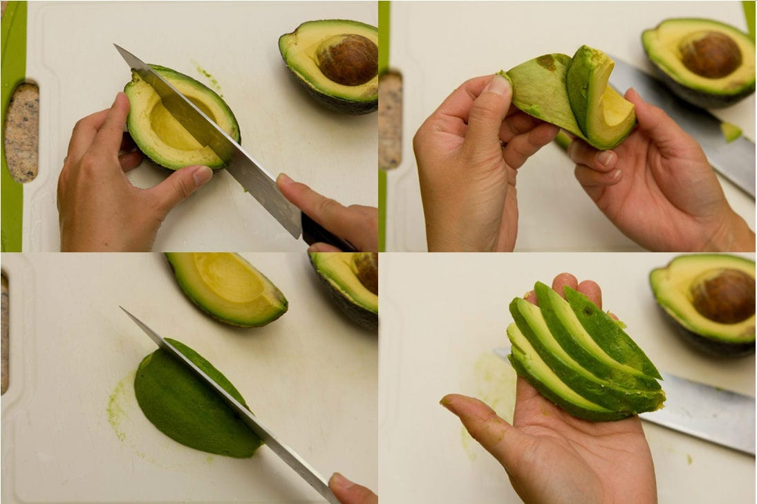 How To Cut Avocado 7-B