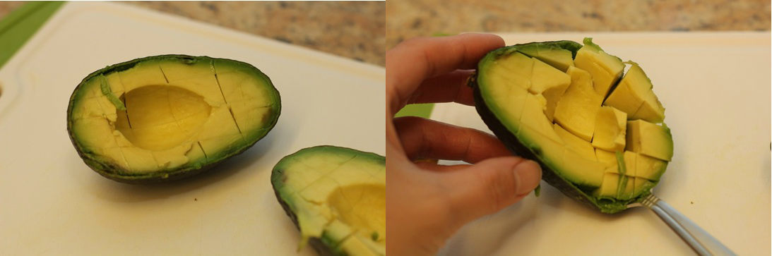How To Cut Avocado 7-C
