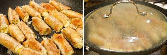 Potato Salad Pork Rolls 4