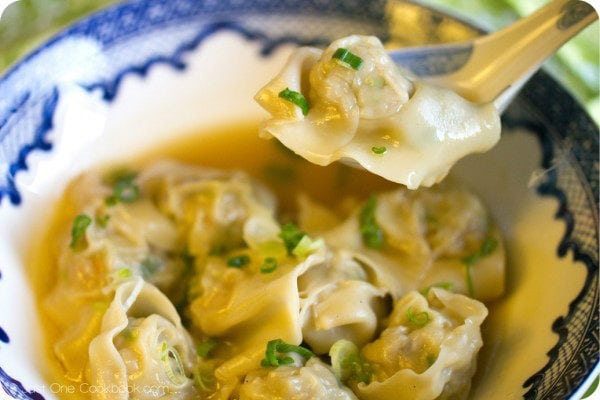 Shrimp and Pork Wonton II