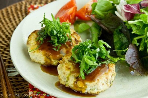 Chicken & Tofu Hamburger Steak II