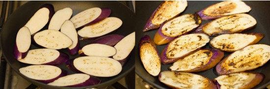 Eggplant with Sesame Ponzu Sauce 2