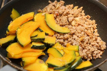 Stir-Fried Kabocha & Pork with Gochujuang Sauce 8