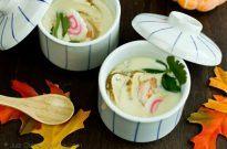 Matsutake Chawanmushi 松茸の茶碗蒸し