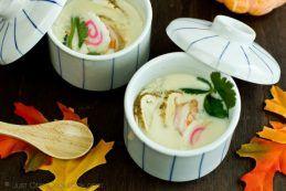 Chawanmushi with Matsutake Mushroom