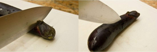 Japanese Grilled Eggplant (Yaki Nasu) 2