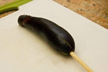 Japanese Grilled Eggplant (Yaki Nasu) 3