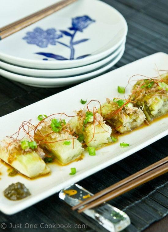 Japanese Grilled Eggplant (Yaki Nasu) II