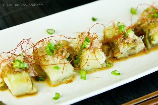 Japanese Grilled Eggplant (Yaki Nasu) III