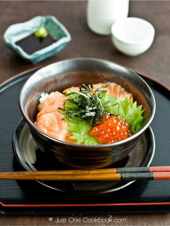 Salmon & Ikura Don II