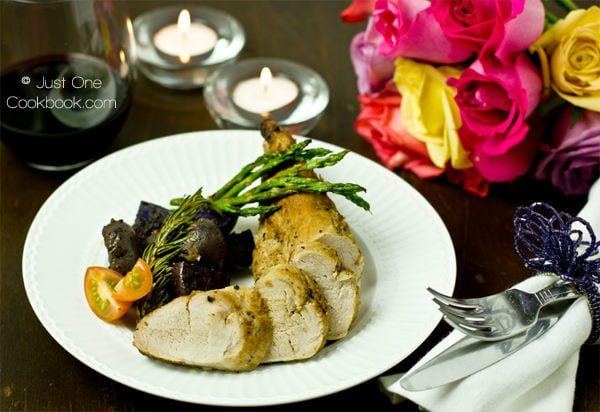 Thomas Keller's Pork Tenderloin Recipe | JustOneCookbook.com