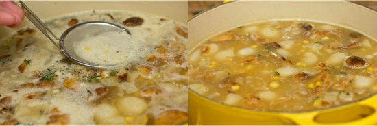 Chicken & Corn Chowder with Roasted Potato 2