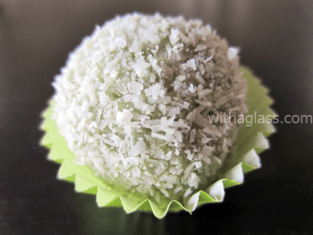 Matcha and White Chocolate Truffles 1