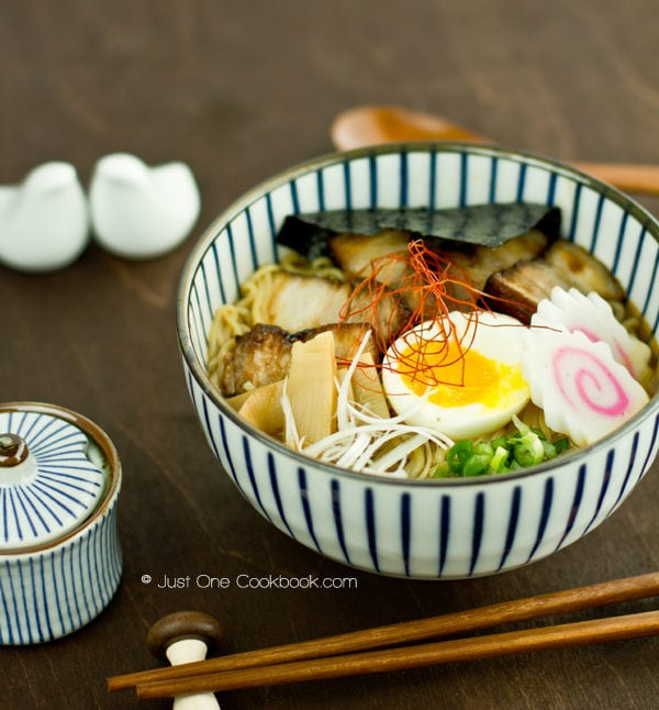 Spicy Shoyu Ramen Recipe | Easy Japanese Recipes at JustOneCookbook.com