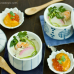 Chawanmushi with Shrimp えび茶碗蒸し