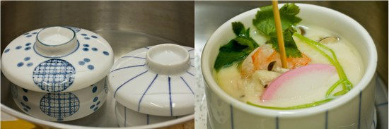 Chawanmushi with Shrimp 6
