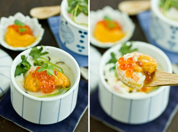 Chawanmushi with Shrimp III