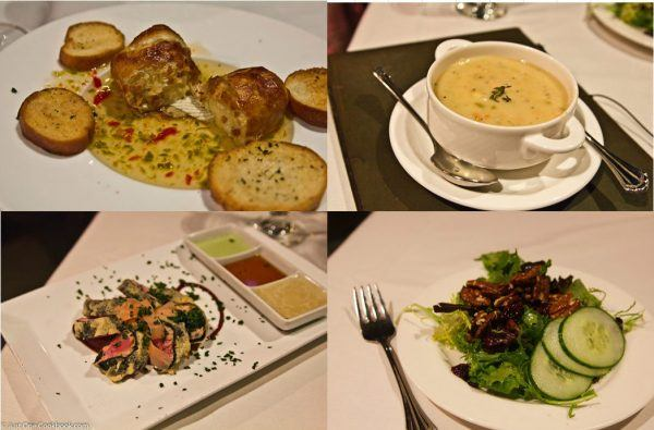 Shadowbrook Appetizers