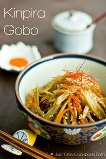 kinpira gobo | JustOneCookbook.com