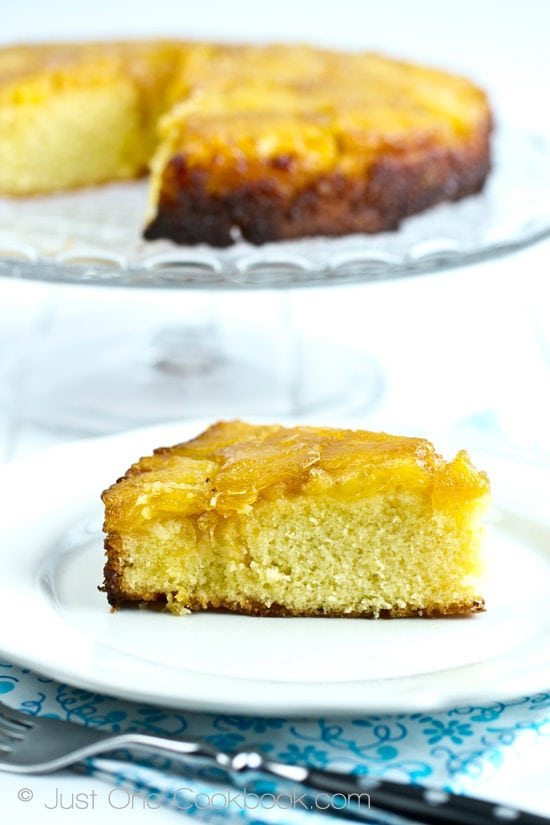 Pineapple Upside Down Cake Recipe | JustOneCookbook.com