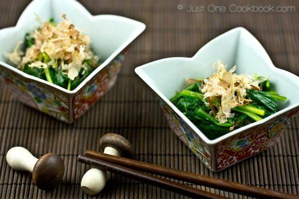 Spinach Ohitashi II