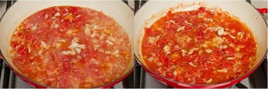 Tomato Bacon Pasta 5
