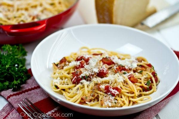 Tomato Bacon Pasta III