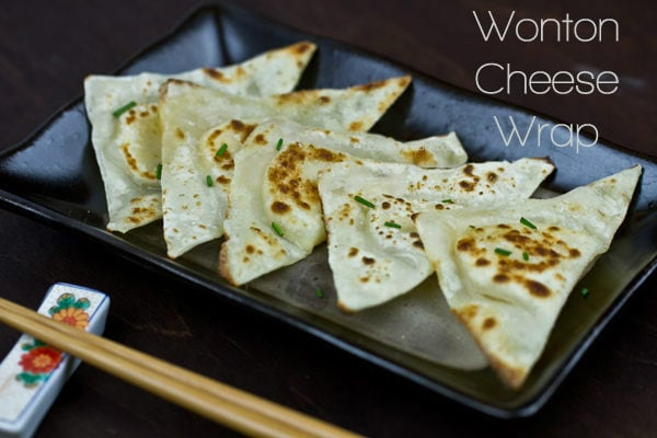 Wonton Cheese Wrap